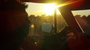 sun mike driving